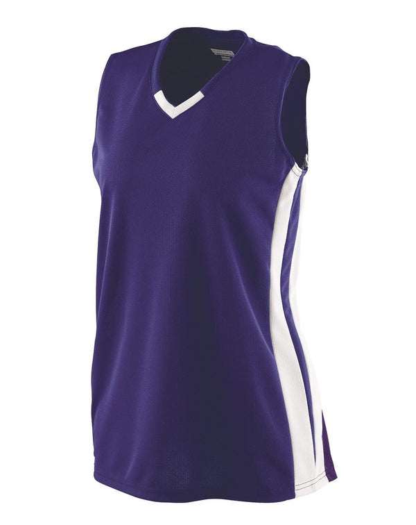 Women's Wicking Mesh Powerhouse Jersey-Augusta Sportswear-Pacific Brandwear