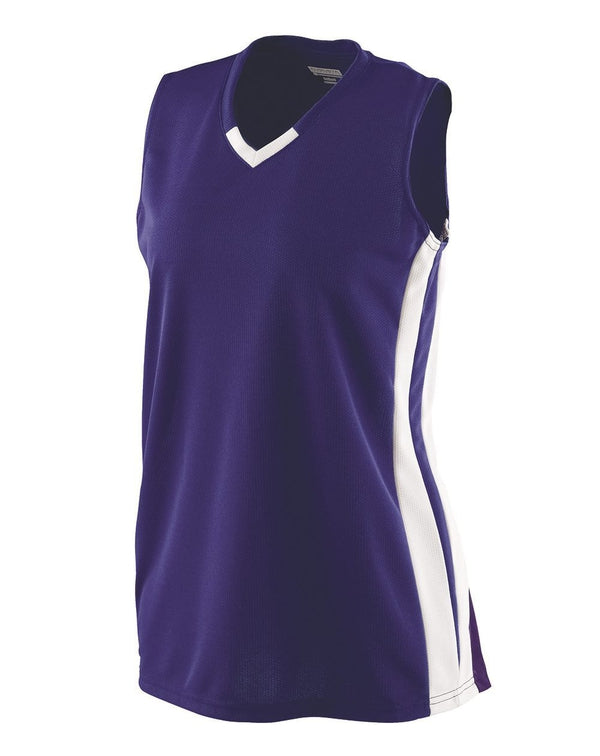 Girls' Wicking Mesh Powerhouse Jersey-Augusta Sportswear-Pacific Brandwear