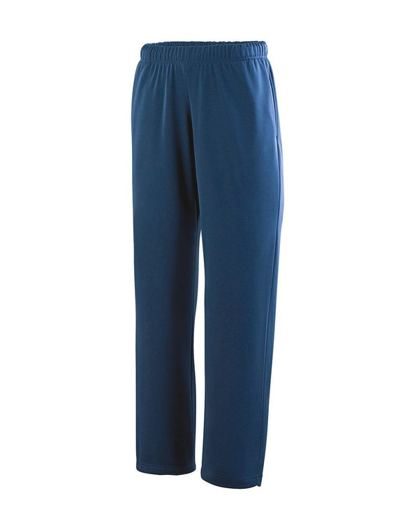 Youth Wicking Fleece Sweatpants-Augusta Sportswear-Pacific Brandwear