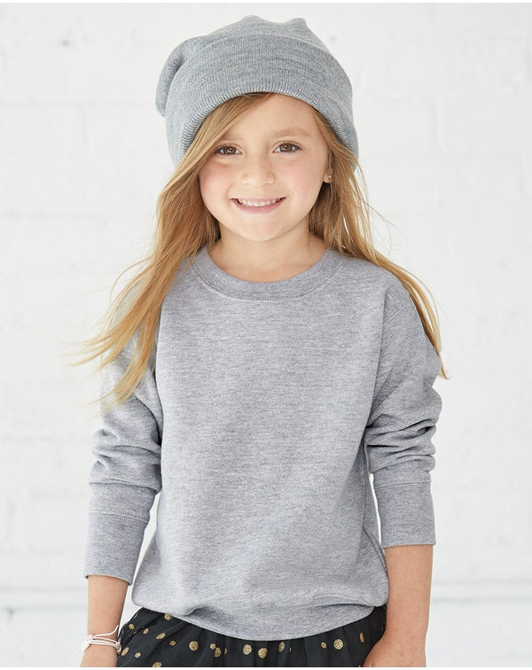 Toddler Fleece Crewnneck SweatShirt-Rabbit Skins-Pacific Brandwear