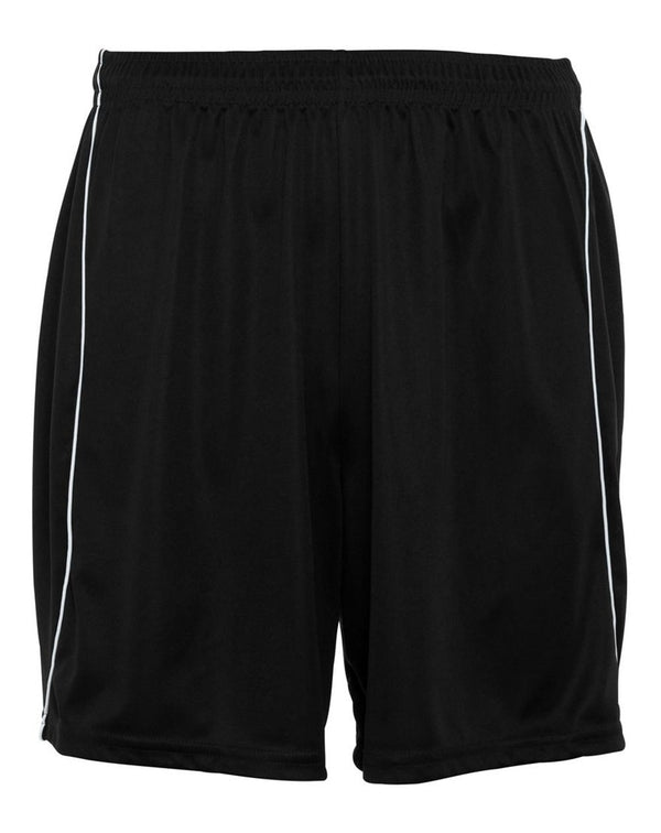 Wicking Soccer Shorts with Piping-Augusta Sportswear-Pacific Brandwear