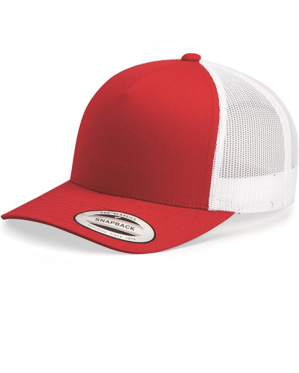 Classics Five-Panel Retro Trucker Cap-Yupoong-Pacific Brandwear