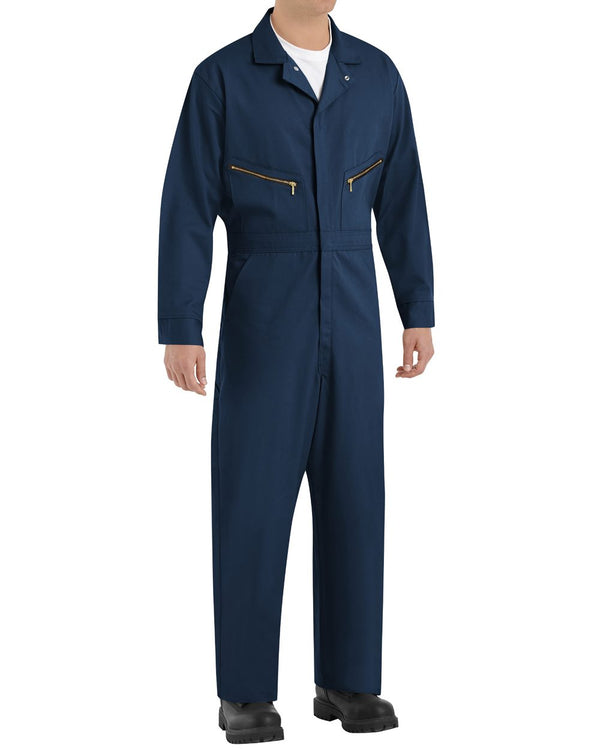 Zip-Front Cotton Coverall-Red Kap-Pacific Brandwear