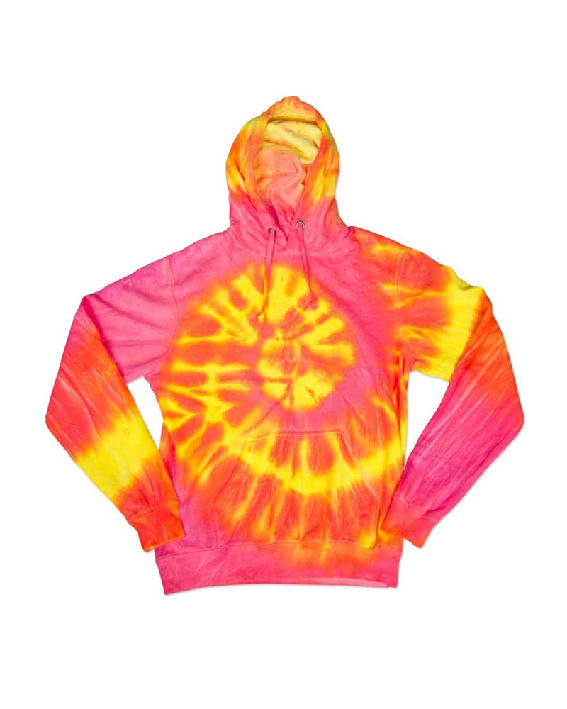 Youth Wave Tie Dye Hoodie-Dyenomite-Pacific Brandwear