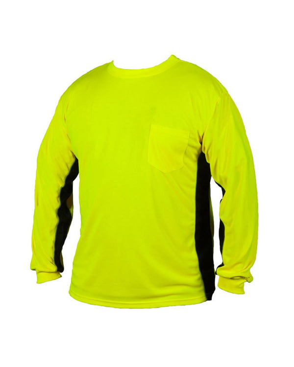 Premium Black Series Long sleeve Hi-Viz T-Shirt-ML Kishigo-Pacific Brandwear
