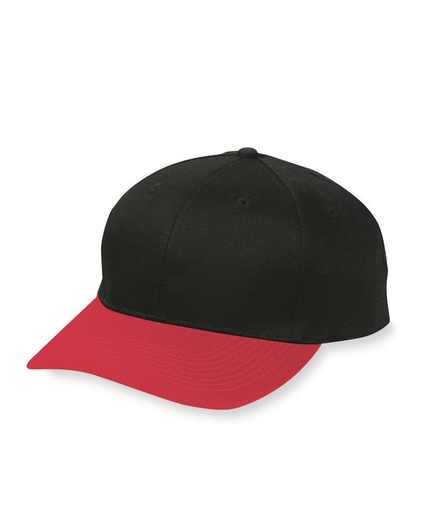 Six-Panel Cotton Twill Low-Profile Cap-Augusta Sportswear-Pacific Brandwear