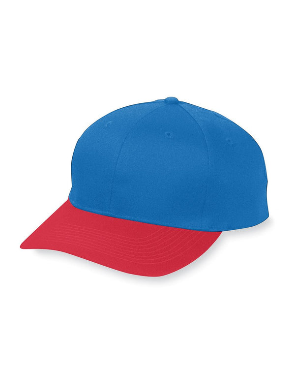 Youth Six-Panel Cotton Twill Low-Profile Cap-Augusta Sportswear-Pacific Brandwear