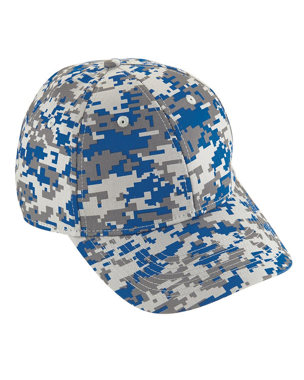 Youth Digi Camo Cotton Twill Cap-Augusta Sportswear-Pacific Brandwear