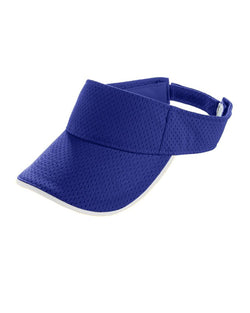 Youth Athletic Mesh Two-Color Visor-Augusta Sportswear-Pacific Brandwear