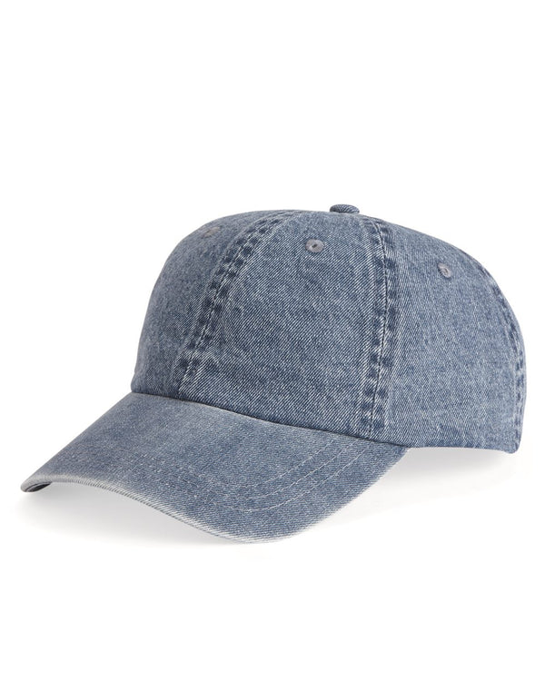 Washed Denim Cap-Mega Cap-Pacific Brandwear