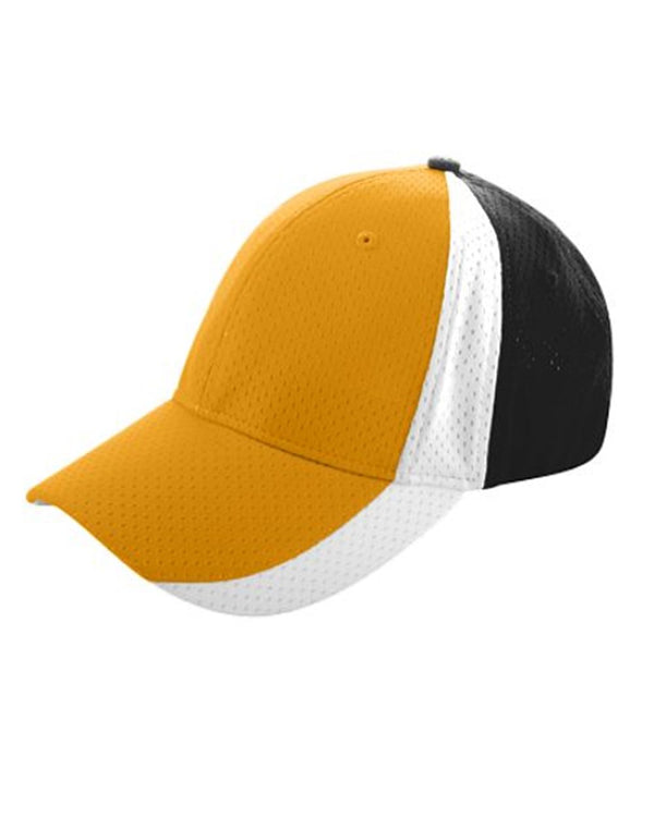 Sport Flex Three-Color Athletic Mesh Cap-Augusta Sportswear-Pacific Brandwear