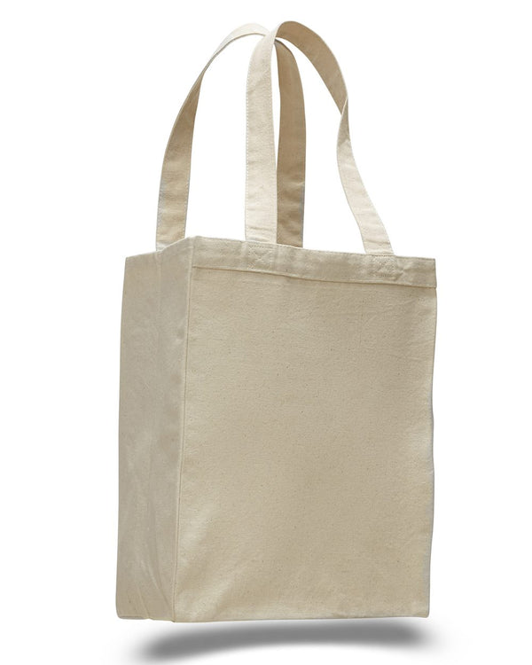 12L Gussetted Shopping Bag-Q-Tees-Pacific Brandwear
