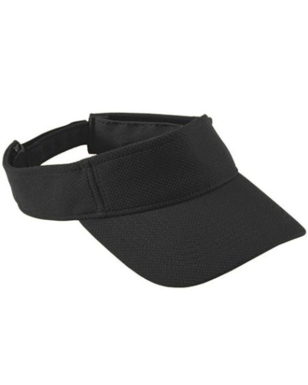 Adjustable Wicking Mesh Visor-Augusta Sportswear-Pacific Brandwear