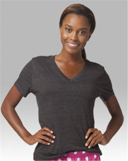 Women's Relaxed V-Neck T-Shirt-Boxercraft-Pacific Brandwear