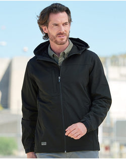 Apex Soft Shell Hooded Jacket-DRI DUCK-Pacific Brandwear
