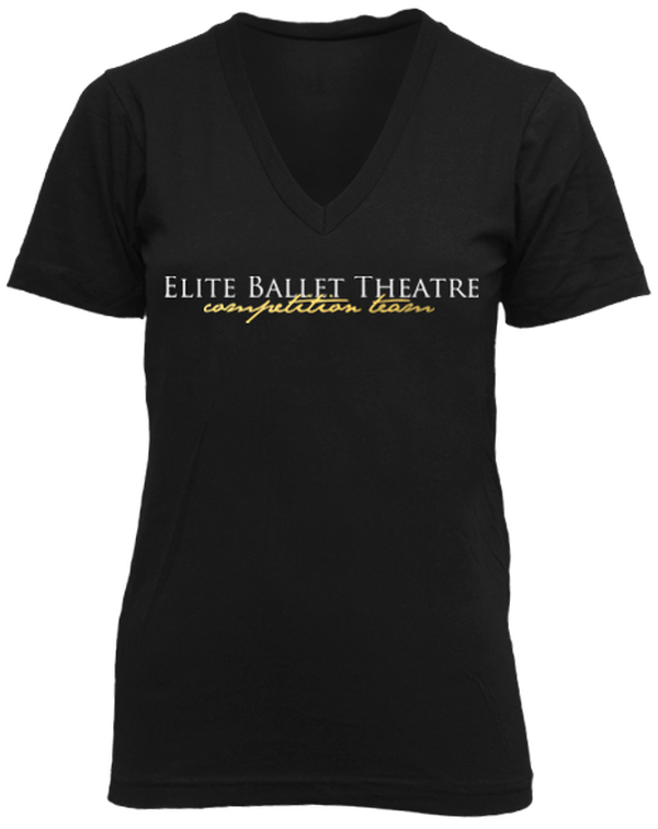 Competition Ballet V-Neck-Pacific Brandwear-Pacific Brandwear