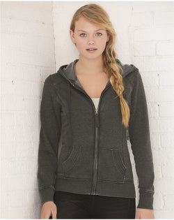Women's Homecoming Full-Zip Hooded Sweatshirt-Boxercraft-Pacific Brandwear