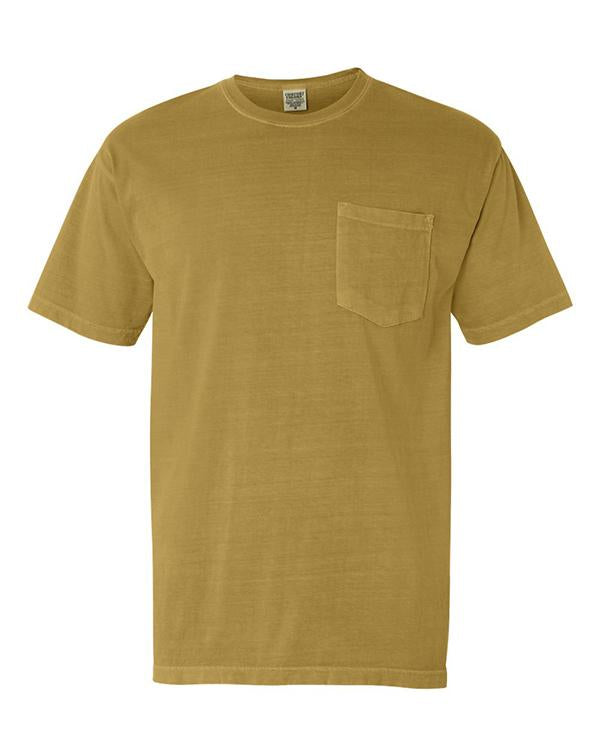 Comfort Colors Pocket T-Shirt-Comfort Colors-Pacific Brandwear