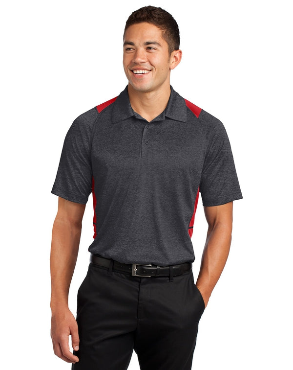 Sport-Tek® Heather Colorblock Contender™ Polo-Sport-Tek-Pacific Brandwear
