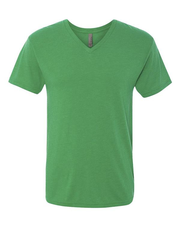 Next Level Triblend Short Sleeve V-neck-Next Level-Pacific Brandwear