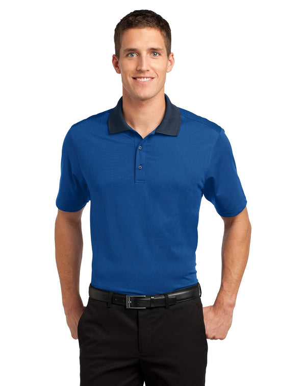 Port Authority® Fine Stripe Performance Polo-Port Authority-Pacific Brandwear