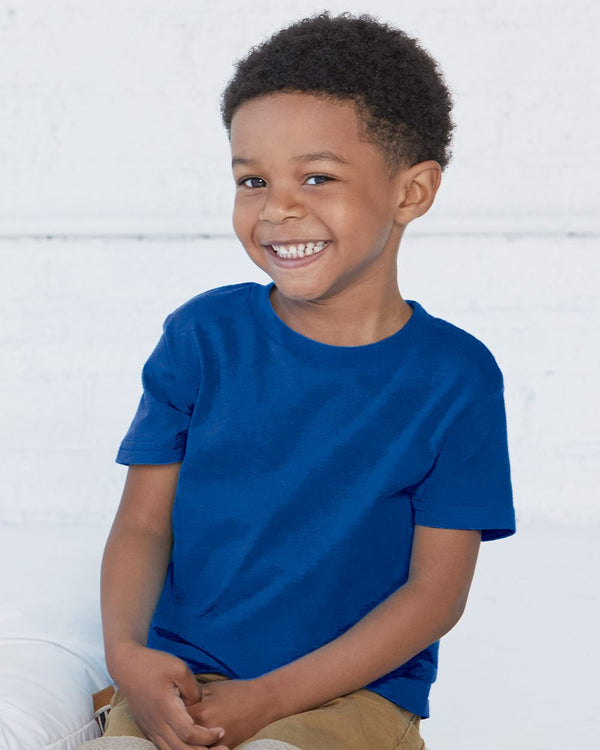 Toddler Cotton Jersey Tee-Rabbit Skins-Pacific Brandwear