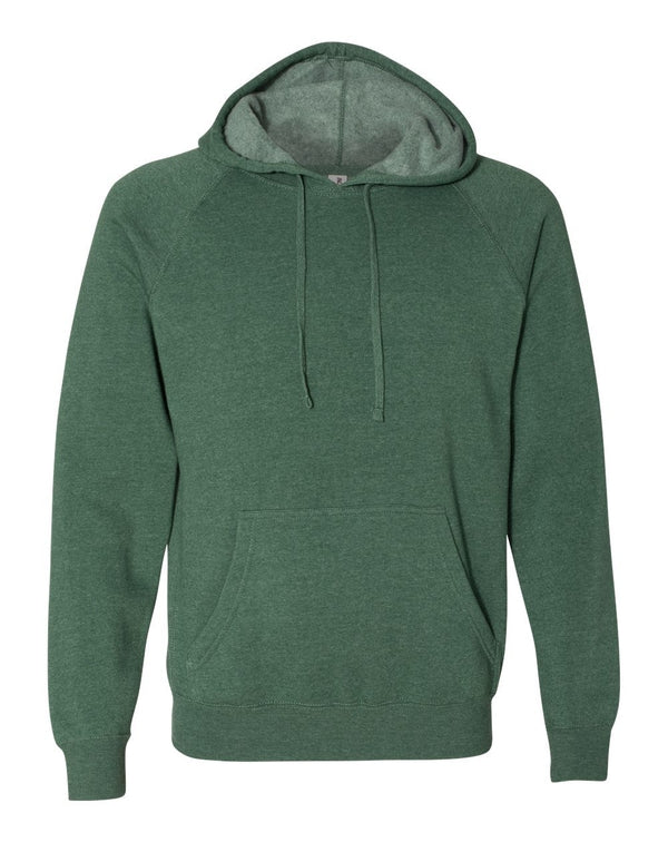 Unisex Special Blend Raglan Hooded Sweatshirt-Independent Trading Co.-Pacific Brandwear