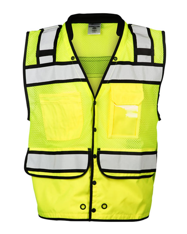 High Performance Surveyors Snap Vest-ML Kishigo-Pacific Brandwear