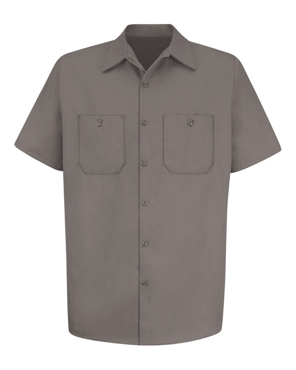 Short sleeve Uniform Shirt Tall Sizes-Red Kap-Pacific Brandwear