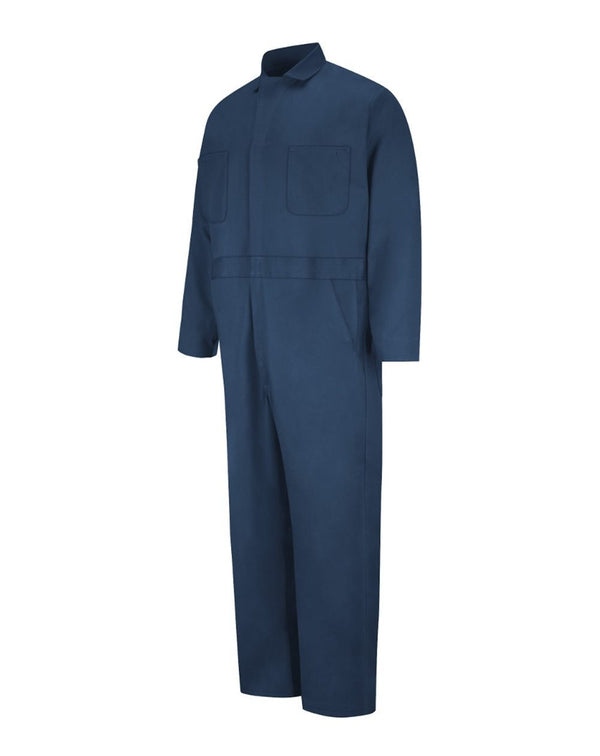Red Kap Button-Front Cotton Coverall-Red Kap-Pacific Brandwear