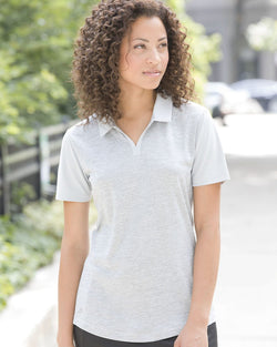 Women's Heather Block Sport Shirt-Adidas-Pacific Brandwear