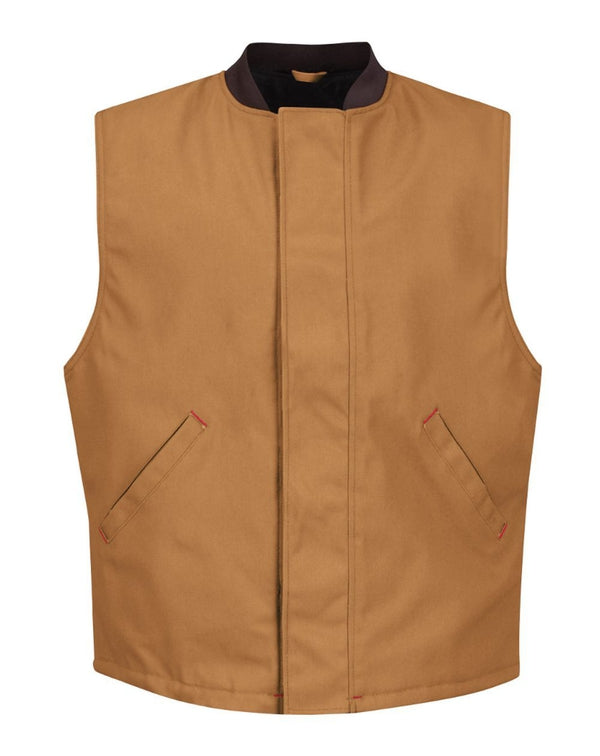 Red Kap Blended Duck Insulated Vest-Red Kap-Pacific Brandwear