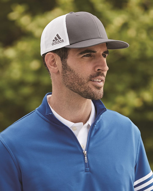 Mesh-Back Colorblocked Cap-Adidas-Pacific Brandwear