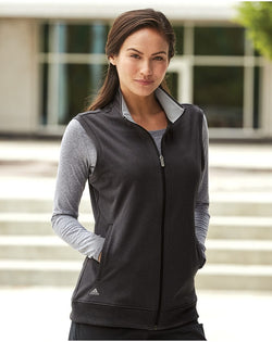 Women's Full-Zip Club Vest-Adidas-Pacific Brandwear