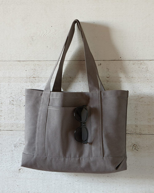 Pigment-Dyed Premium Canvas Tote-Liberty Bags-Pacific Brandwear