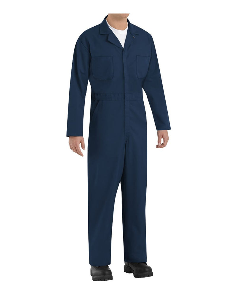 Twill Action Back Coverall Extended Sizes-Red Kap-Pacific Brandwear