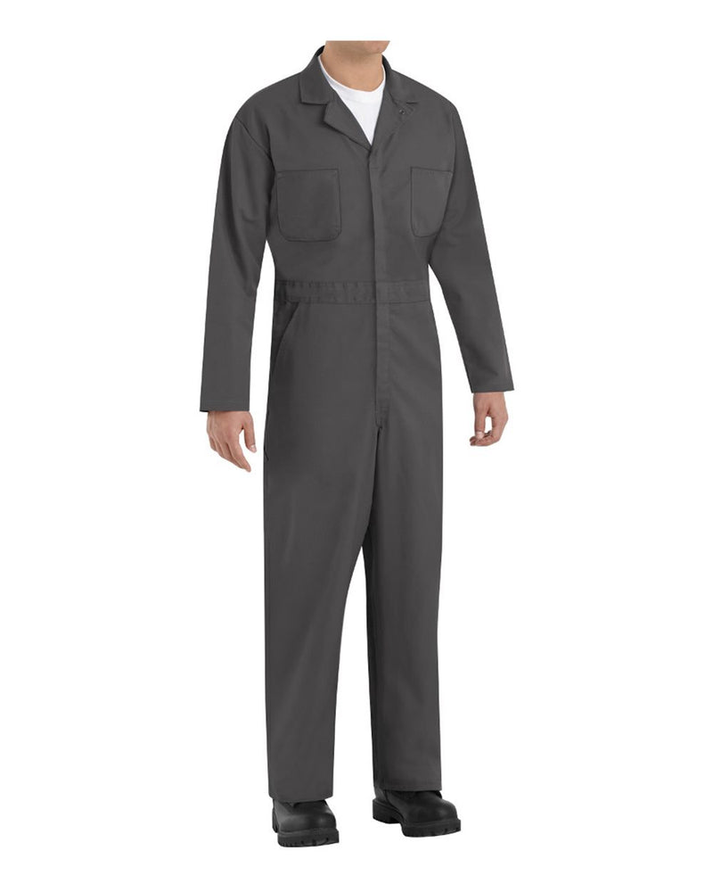 Twill Action Back Coverall Long Sizes-Red Kap-Pacific Brandwear