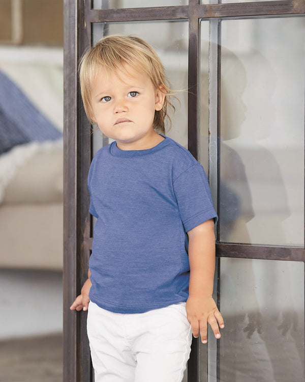 Toddler Jersey Tee-BELLA + CANVAS-Pacific Brandwear