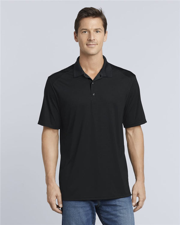 Performance Colorblock Sport Shirt-Gildan-Pacific Brandwear