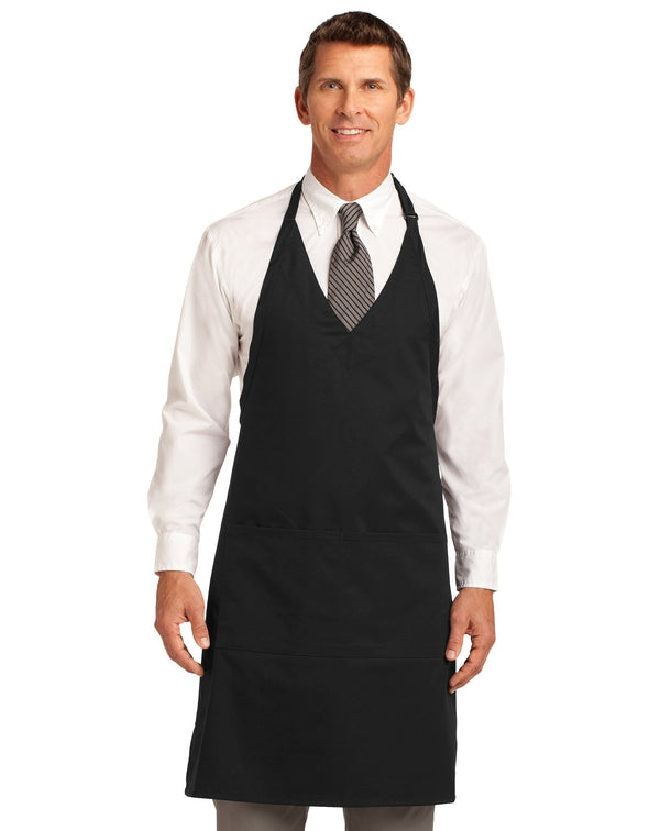 Port Authority® Easy Care Tuxedo Apron with Stain Release-Port Authority-Pacific Brandwear