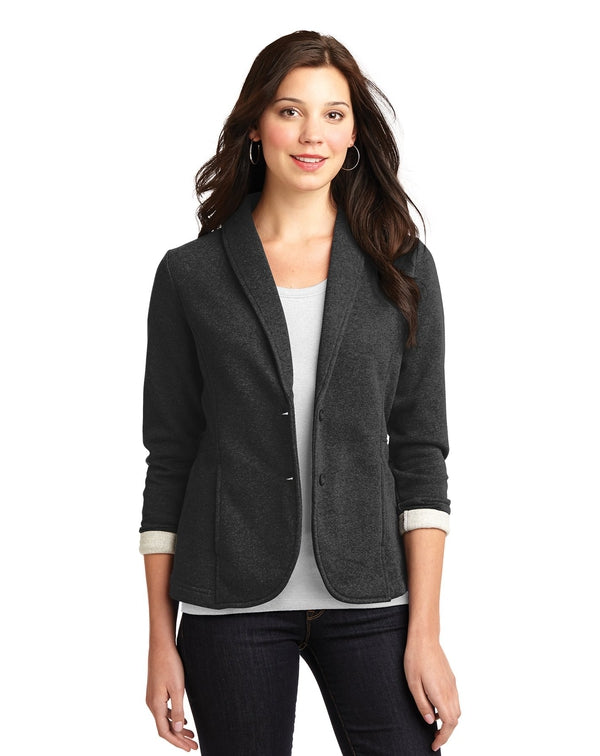 Port Authority® Ladies Fleece Blazer-Port Authority-Pacific Brandwear