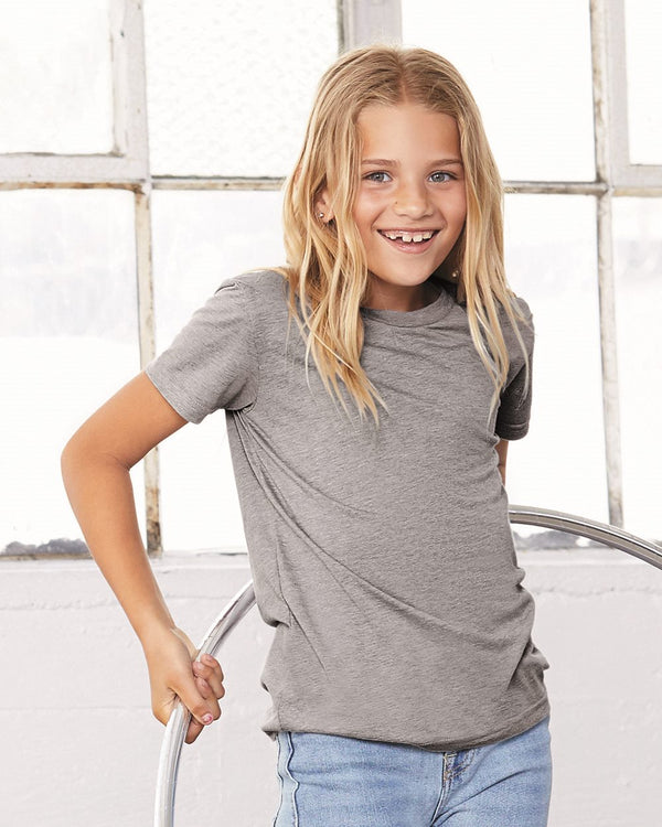 Youth Triblend Tee-BELLA + CANVAS-Pacific Brandwear