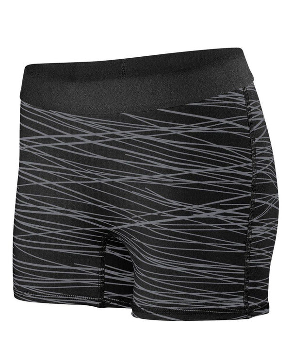 Women's Hyperform Fitted Shorts-Augusta Sportswear-Pacific Brandwear