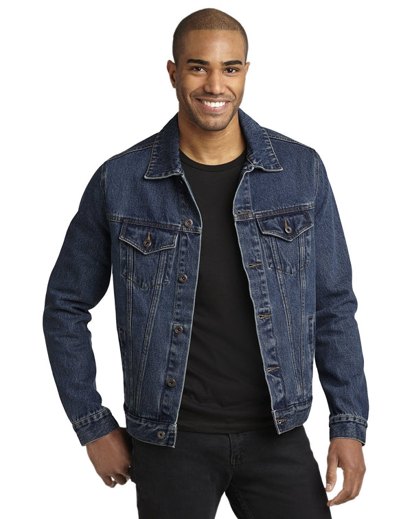Port Authority® Denim Jacket-Port Authority-Pacific Brandwear