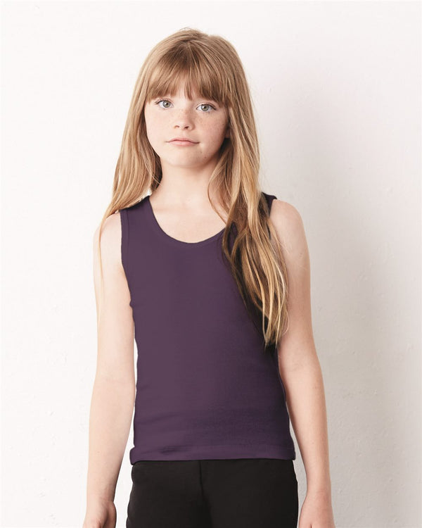 Girls' Baby Rib Tank-BELLA + CANVAS-Pacific Brandwear