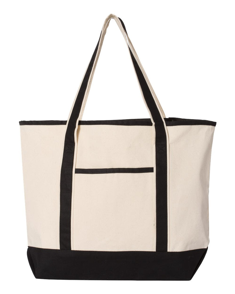 34.6L Large Canvas Deluxe Tote-Q-Tees-Pacific Brandwear