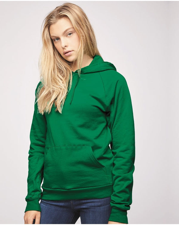 California Fleece Unisex Hoodie-American Apparel-Pacific Brandwear
