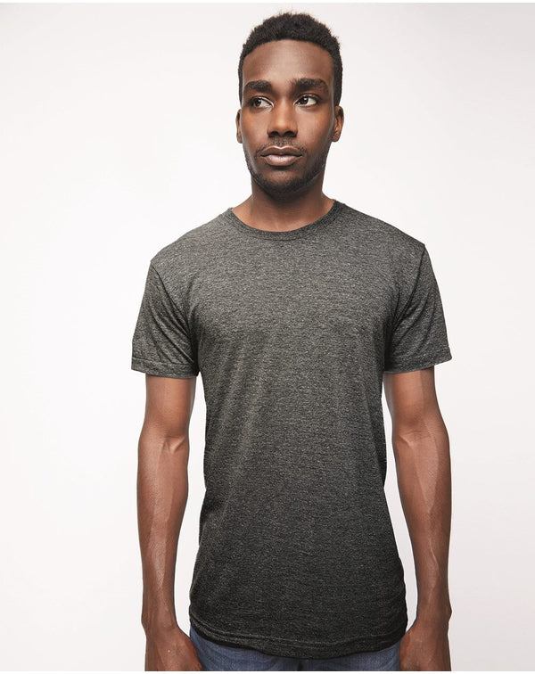 USA-Made Triblend Track Tee-American Apparel-Pacific Brandwear
