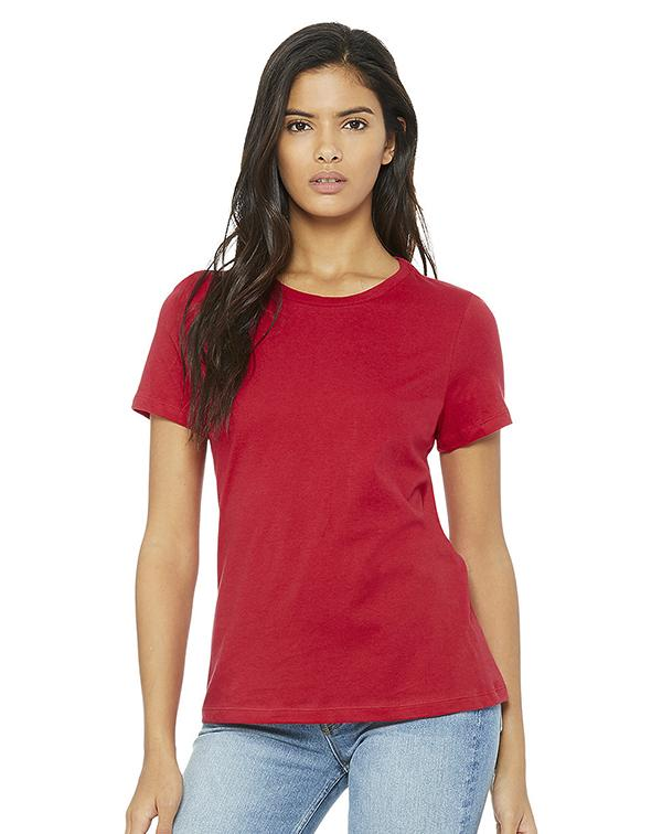 Bella Women's Relaxed Tee-BELLA CANVAS-Pacific Brandwear