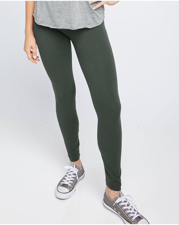 Women's Spandex Jersey Leggings-American Apparel-Pacific Brandwear